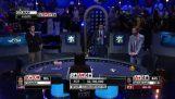 Реакцията на един покер играч, когато той спечели $ 15 милиона