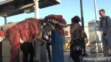 Prank: Hrůzu nahánějící dinosaurus