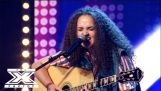 14-year-old singer receives a standing ovation from X Factor judges