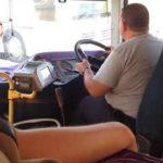 Πρόβλημα με το τιμόνι στο λεωφορείο