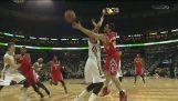 Awesome Kostas Papanikolaou mand in NBA