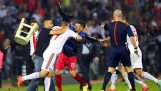 Panic in the match Serbia – Albania