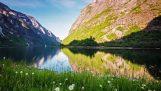 नॉर्वे के सुंदर परिदृश्य