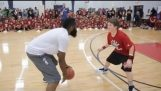 The James Harden humiliates a small pupil