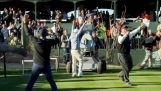 Robot makes hole-in-one on No. 16 at TPC Scottsdale