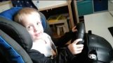3-Year-Old Plays DIRT RALLY like pro