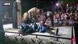 Het beeld dat zich aan de winnaars Kavala geslagen