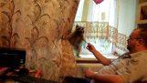Racoon si balonul