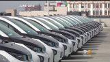 $ 1000 만 LAPD 전기의 BMW가 사용되지 않는 또는 오용에게 나타난다