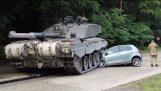 사고 탱크. 탱크 사고