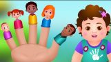 นิ้วครอบครัวเพลง | ChuChu ทีวีเด็กบ๊อง & เพลงสำหรับเด็ก