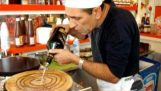 "Best Crepe man ever – Julio ""the pancake"" in Alcudia with ""love is in the air"" (hi qual)"