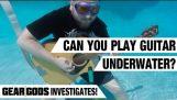 Si può suonare la chitarra subacquea? Gear Dei indaga!
