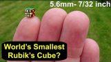 Найменший у світі куб головоломка Рубіка (5.6mm or 7/32 inch) Тоні Фішер