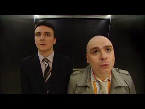 burnistoun s1e1 voice recognition elevator eleven