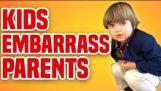 Kids Embarrass Parents   Funny Kids Compilation