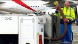 What Airplane Toilets Do With Your Waste