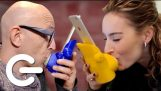 "The Kissing App ""Kissenger"" – The Gadget Show"