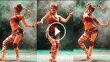 Отличен контрол по цялото тяло Танцувай с kremushka
