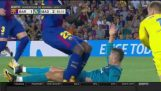 Cristiano Ronaldo Red Card! 13 August 2017 (Barcelona-Real Madrid)