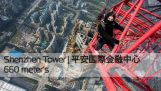 Climb the tower Ping An Finance Centre (660m)