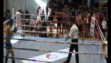 impressive kickboxing knockout