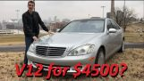 Guy buys broken Mercedes S600 V12 for $4500