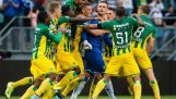 Miraculous goal in the last minute of the match ADO Den Haag – PSV