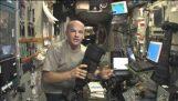 Demonstráció során egy Reboost belül a Nemzetközi Űrállomás gyorsulás
