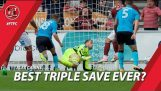Best triple save ever? Alex Cairns v Northampton Town