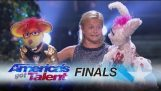 Darci Lynne: Kid Ventriloquist Sings With A Little Help From Her Friends – America's Got Talent 2017