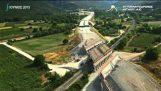 Видео для продвижения в Эгейском шоссе (Eyaggelismos Темпи Platamwnas-Skwtina).