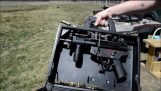 HK MP5在一個手提箱