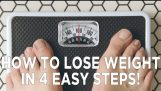 Jak zhubnout Ve 4 jednoduchých krocích!