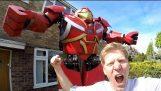 โฮมเมด Hulkbuster ไฮโดรลิค
