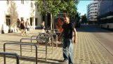 Bike Theft Attempt