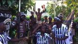 Πανηγυρισμοί για τον Κυπελλούχο ΠΑΟΚ στην Ζάμπια 2018