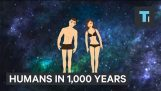 What humans will look like in 1,000 years