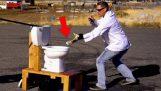 Ne pas rincer le Sodium dans les toilettes