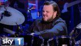 Game of Thrones Star John Bradley Amazing Drumming