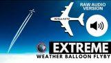 A films de ballons stratosphériques un avion