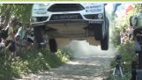 Ott Tanak BIG JUMP RALLY POLAND 2015