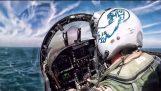 Jet lanciare da USS Theodore Roosevelt • Cockpit View