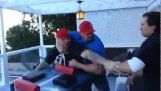 Armwrestling Match Goes Wrong