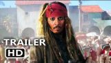 CARIBBEAN 5公式トレーラー#3の海賊 (2017) 死んだ男性はなしテイルズに知らせるません, ディズニー映画のHD
