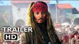 Pirates of the Caribbean 5 Official Trailer # 3 (2017) Döda Män berättar inga sagor, Disney Movie HD