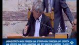 Unprecedented attack on parliament: The Kasidiaris hit Dendias