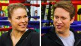 Ronda Rousey के साथ पीट होम्स