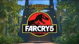 Farcry 5 üzerinde Jurassic Park haritası