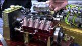 पेट्रोल मिनी वी 8 इंजन